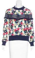 Sea Crochet Crew Neck Sweater w/ Tags