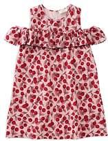 Kate Spade Girls' Cherry-Print Ruffle-Sleeve Dress - Little Kid