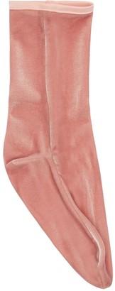 Velvet Sock'S By Simone Wild Techno Velvet Ankle Socks