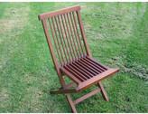 Teak Folding Outdoor Chair Grade: A