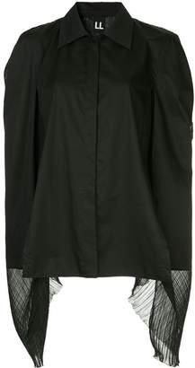 Ll By Litkovskaya Teddy Boy oversize blouse