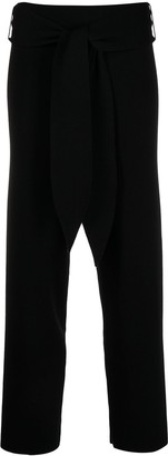 Antonella Rizza Tie-Front Merino Trousers