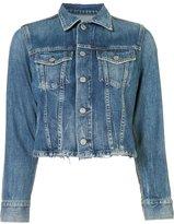 Citizens of Humanity stonewashed denim jacket - women - Cotton/Rayon - XS