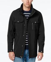 Izod Men's Long Soft-Shell Jacket