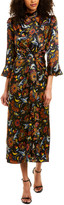 Cinq à Sept Juliana Silk Maxi Dress