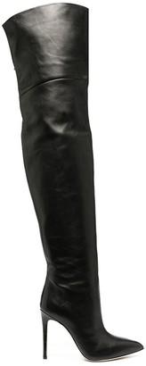 Paris Texas Pointed Thigh-High Boots