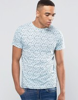 Bellfield Abstract Printed T-Shirt