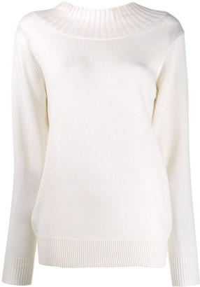 Chloé Cut-Out Back Sweater
