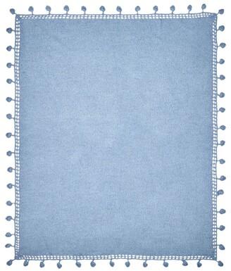Theophile Patachou Crochet Trim Shawl