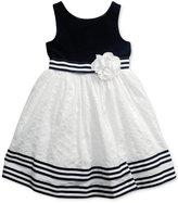 Sweet Heart Rose Eyelet-Skirt Dress, Little Girls (2-6X)