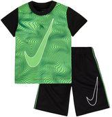 Nike Toddler Boy Swoosh Tee & Shorts Set