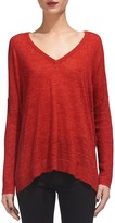 Whistles Marled V-Neck Sweater