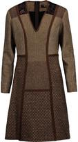 Etro Wool-blend jacquard dress