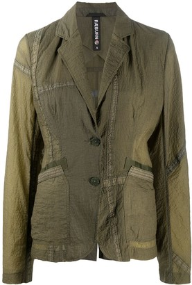Raeburn Parachute panelled blazer