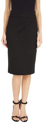 MICHAEL Michael Kors Slim Fit Pencil Skirt (Black) Women's Skirt