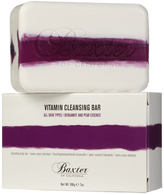 Baxter of California Vitamin Cleansing Bar Bergamot/Pear 198g White