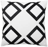Pottery Barn Teen Lattice Monogram Pillow Cover