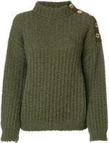 Moschino chunky roll neck jumper