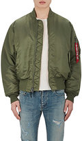 Alpha Industries Men's MA-1 Reversible Blood Chit Flight Jacket