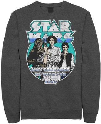 Star Wars Juniors' Vintage Circle Portrait Logo Fleece