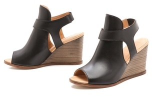 Maison Martin Margiela Sling Wedge Sandals