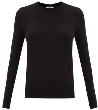 Co Round-neck Cashmere Sweater - Black
