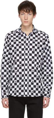 McQ Black and White Shields 25 Shirt