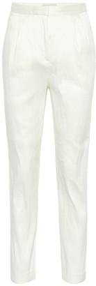 Mansur Gavriel Linen-blend pants