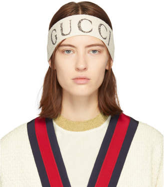 Gucci Off-White Logo Headband