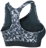 Under Armour Stealth Gray Armour® Mid Self-Binding Sports Bra