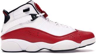 Jordan 6 Rings White University Red