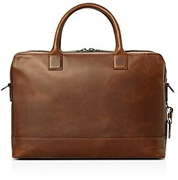 Shinola Navigator Leather Bedrock Briefcase
