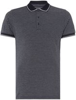 Peter Werth Men's Gaze Striped Pique Polo Shirt