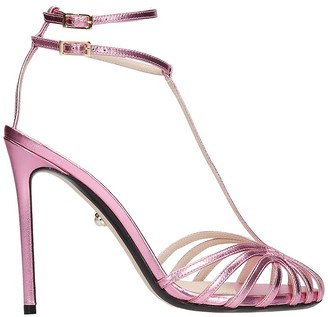 Alevì Alevi Stella 110 Sandals In Rose-pink Leather