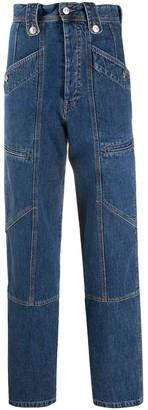 Etoile Isabel Marant High-Waisted Denim Trousers