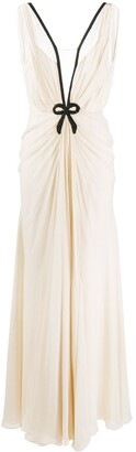 Ports 1961 Embroidered Long Dress