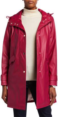 Kate Spade matte water-resistant raincoat