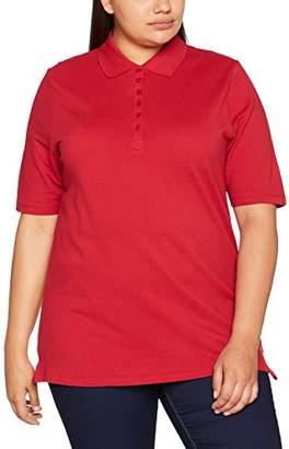 Ulla Popken Women's PoloPiquee Longsleeve T - Shirt,26