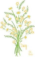 Bob Mackie Green/Yellow Rug