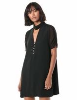 BCBGeneration Women's Cocktail Ruched SLV Aline Woven Dress