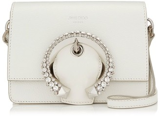 Jimmy Choo Leather Madeline Shoulder Bag