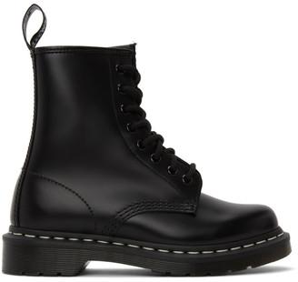 Dr. Martens Black 1460 Contrast Stitch Boots