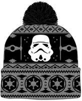 Star Wars Stormtrooper Pom Cuff Beanie Black /