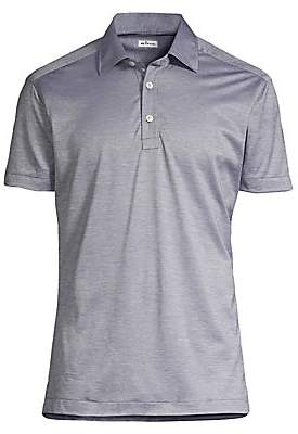 Kiton Men's Cotton Polo Shirt
