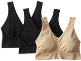 Carnival Women's 3 Pack EZ Fit Comfort Bra