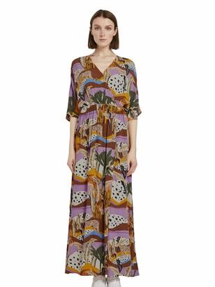 Tom Tailor Women's Wickel Druck Dress