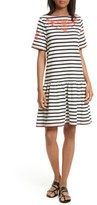 Kate Spade Women's Embroidered Drop Waist Dress