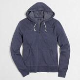 J.Crew Factory Lightweight fleece full-zip hoodie