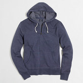 J.Crew Factory Tall lightweight fleece full-zip hoodie