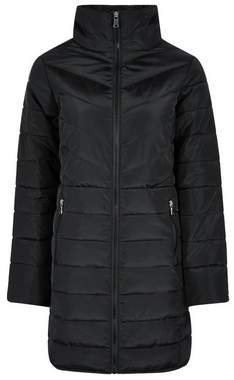 Dorothy Perkins Womens Petite Black Padded Jacket With Recycled Wadding, Black